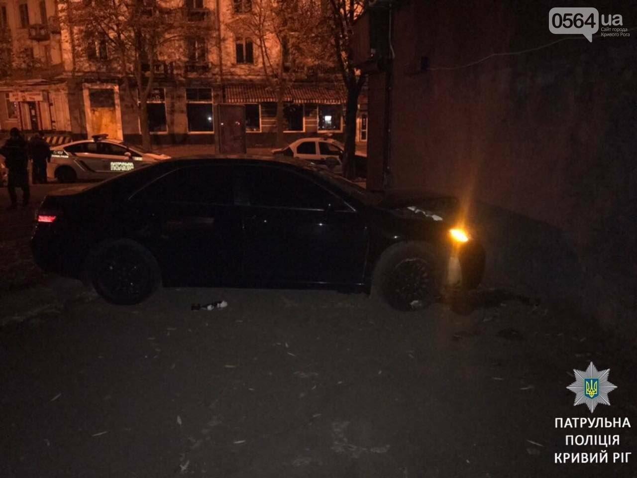 Аварией закончилась попытка пьяного криворожанина убежать от копов, - ФОТО, фото-1