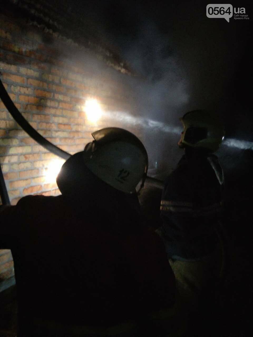 На пожаре в Кривом Роге пострадал пенсионер, - ФОТО , фото-3