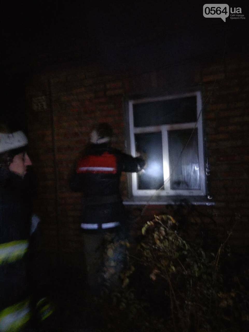 На пожаре в Кривом Роге пострадал пенсионер, - ФОТО , фото-1