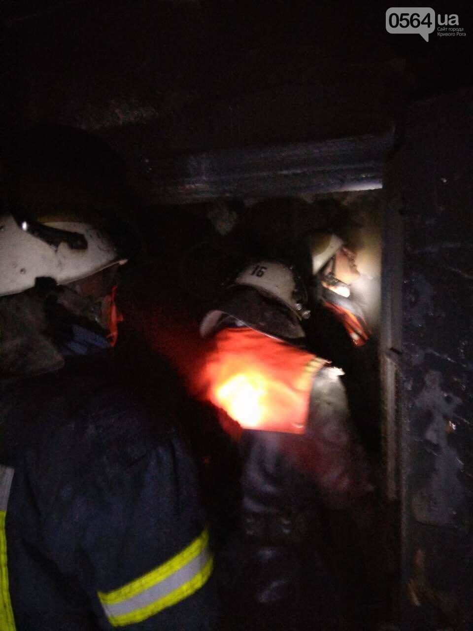 На пожаре в Кривом Роге пострадал пенсионер, - ФОТО , фото-4