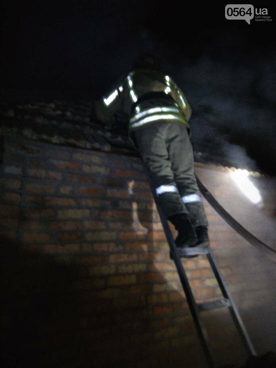 На пожаре в Кривом Роге пострадал пенсионер, - ФОТО , фото-2