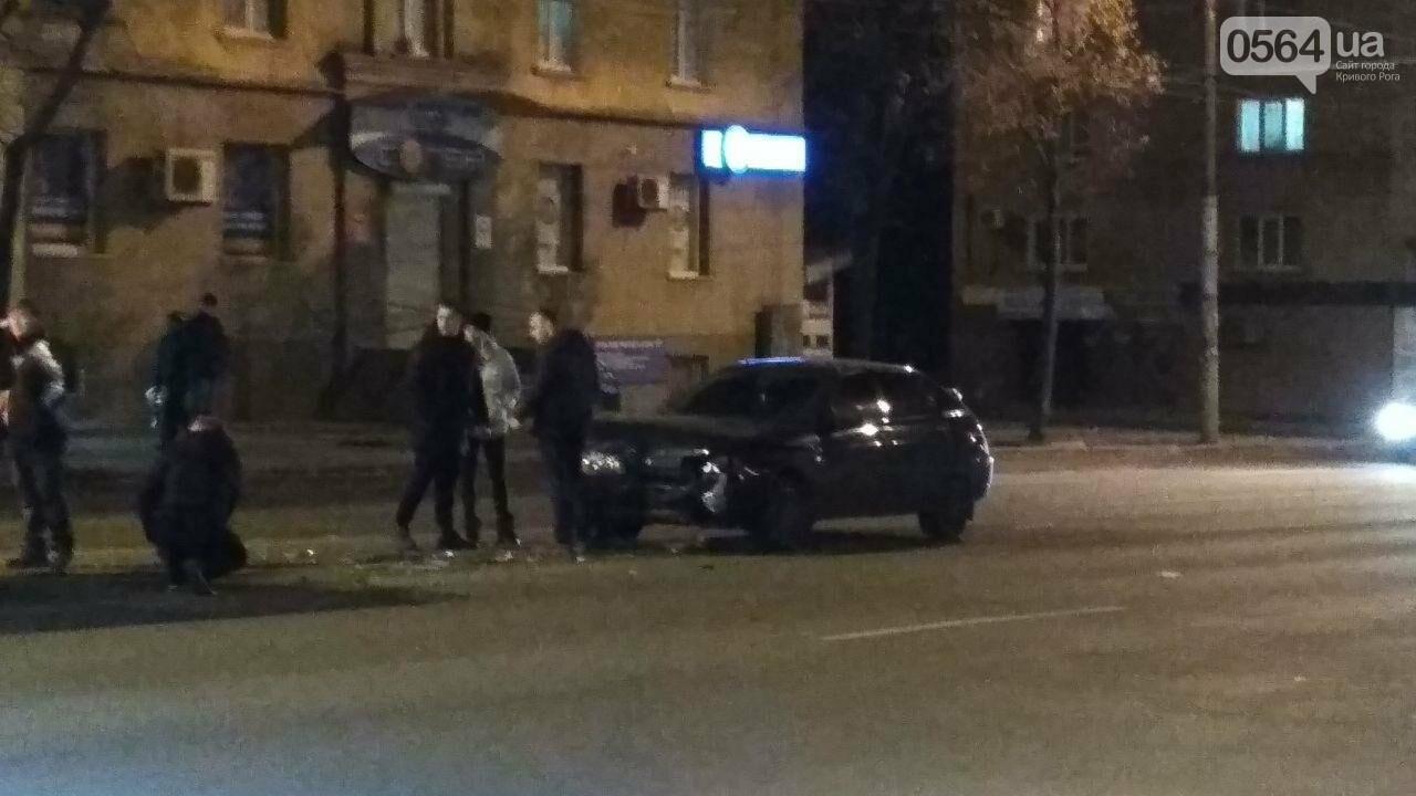 Пропуская пешехода, в Кривом Роге столкнулись два автомобиля, - ФОТО , фото-1