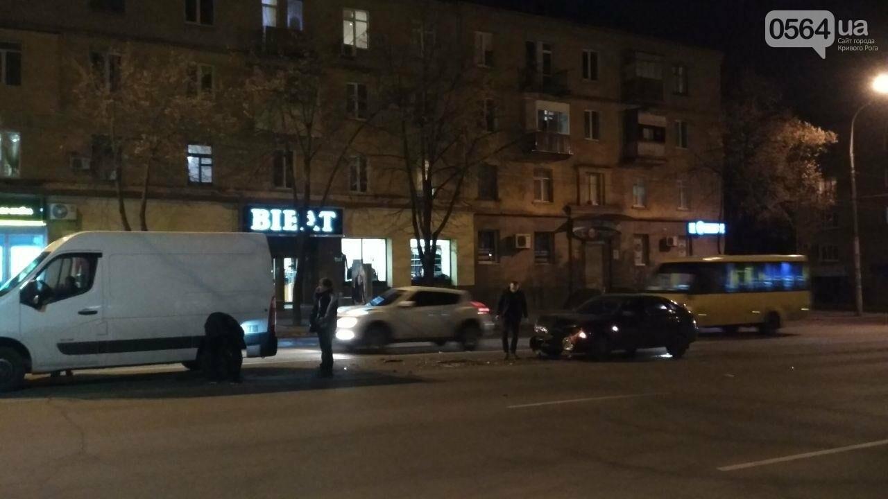 Пропуская пешехода, в Кривом Роге столкнулись два автомобиля, - ФОТО , фото-4
