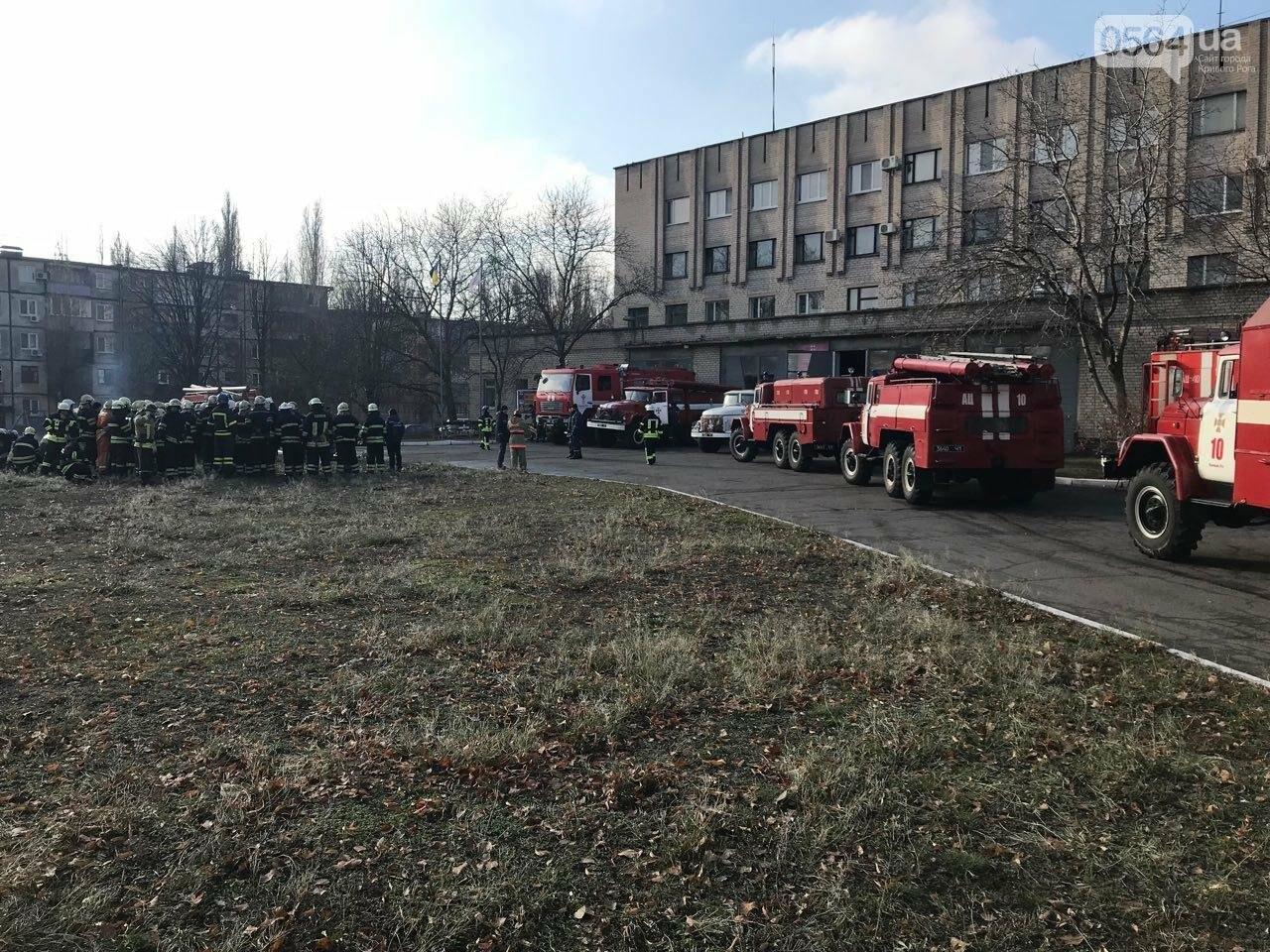 Криворожские спасатели повышали оперативное мастерство на сложных пожарах, - ФОТО , фото-6