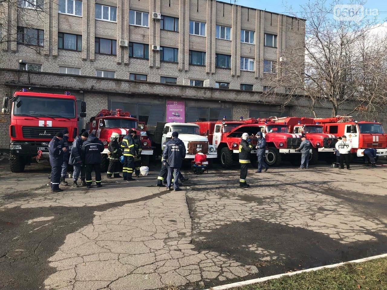 Криворожские спасатели повышали оперативное мастерство на сложных пожарах, - ФОТО , фото-5