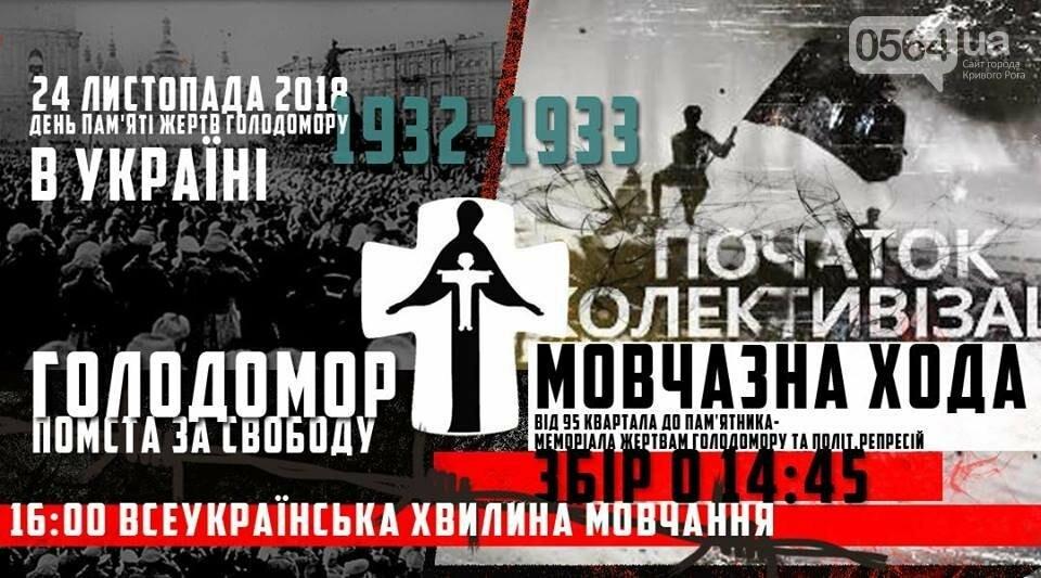 Молчаливое шествие, историческая лекция о Голодоморе, курс по распознаванию лжи: куда пойти криворожанам на выходных, фото-8