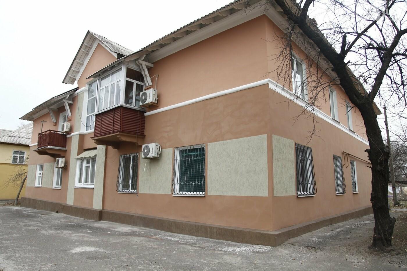 Южный ГОК отреставрировал фасады домов в поселке Матреновка, фото-1