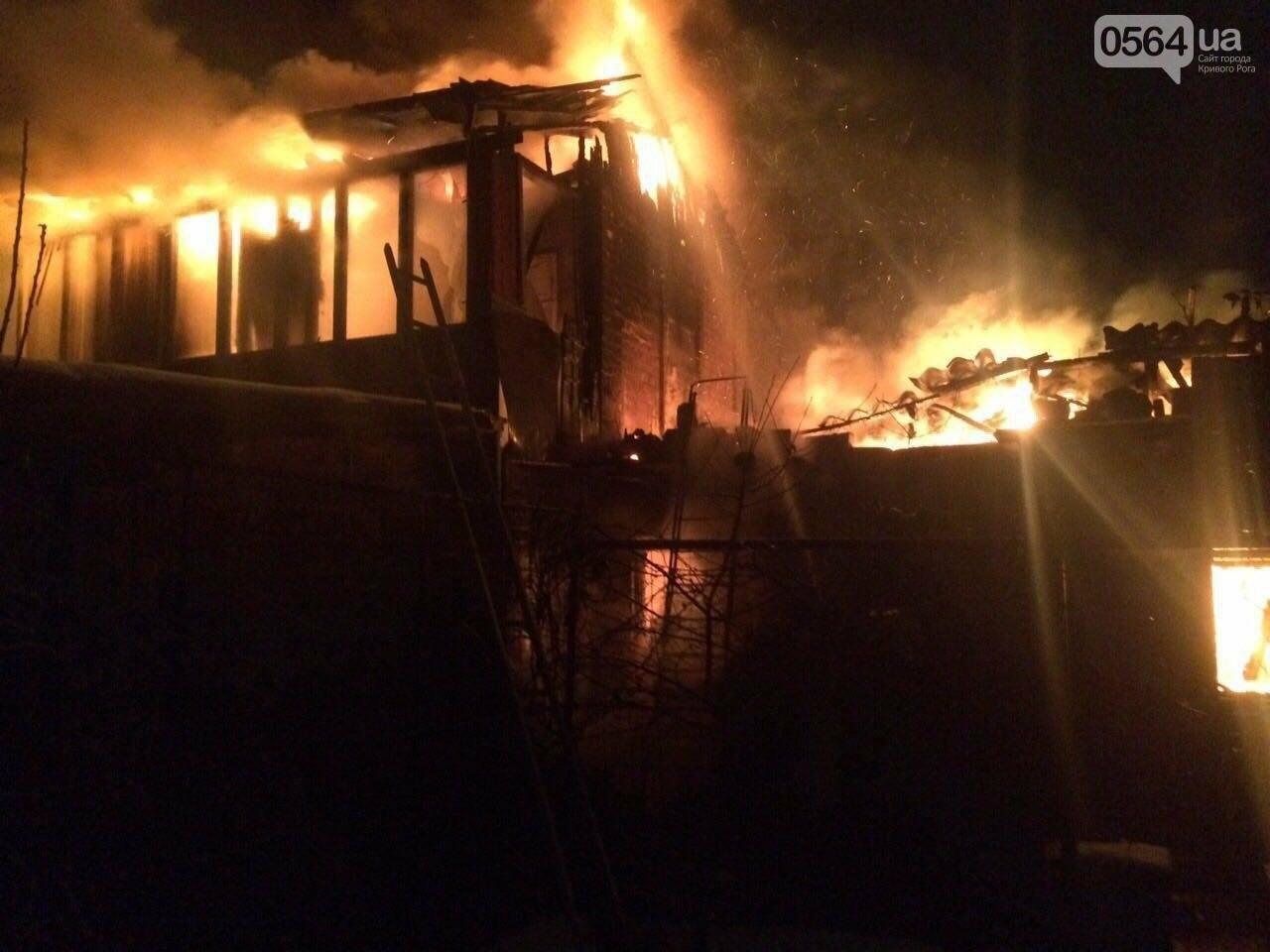 Криворожане лишилась части дома  из-за масштабного пожара, - ФОТО , фото-2