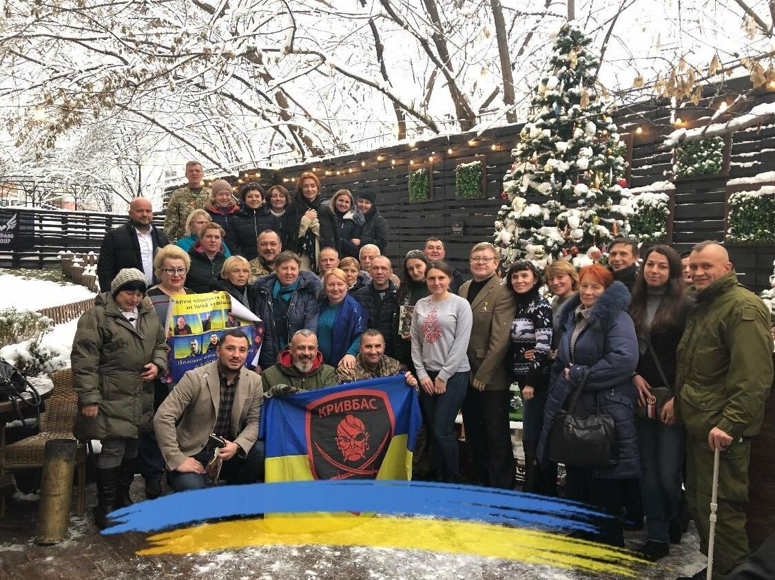"Криворожане на Майдане Независимости в столице провели акцию ""Билет на волю"", - ФОТО, фото-12"