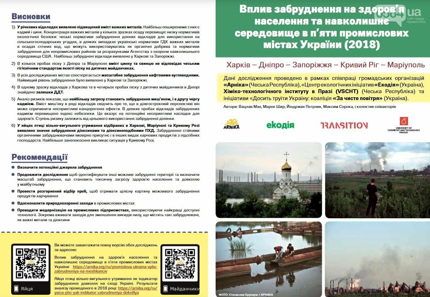 В Кривом Роге презентовали результаты исследований международной команды экологов, - ФОТО, ВИДЕО, фото-1
