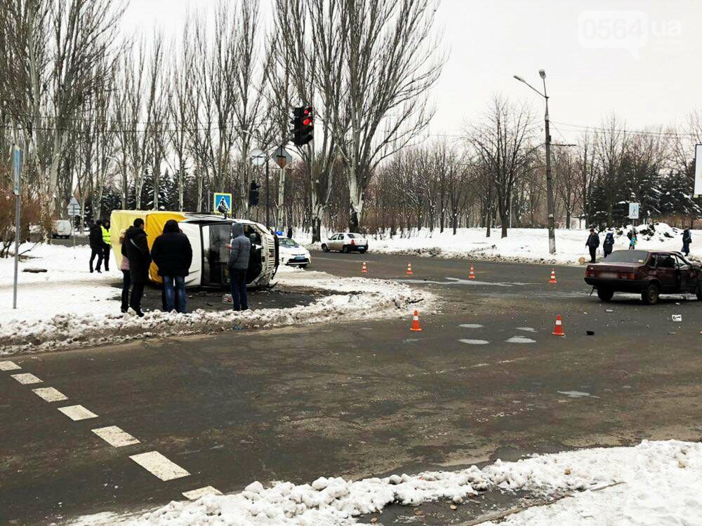 В Кривом Роге перевернулся и загорелся грузовик: пострадали 4 человека, - ФОТО , фото-20