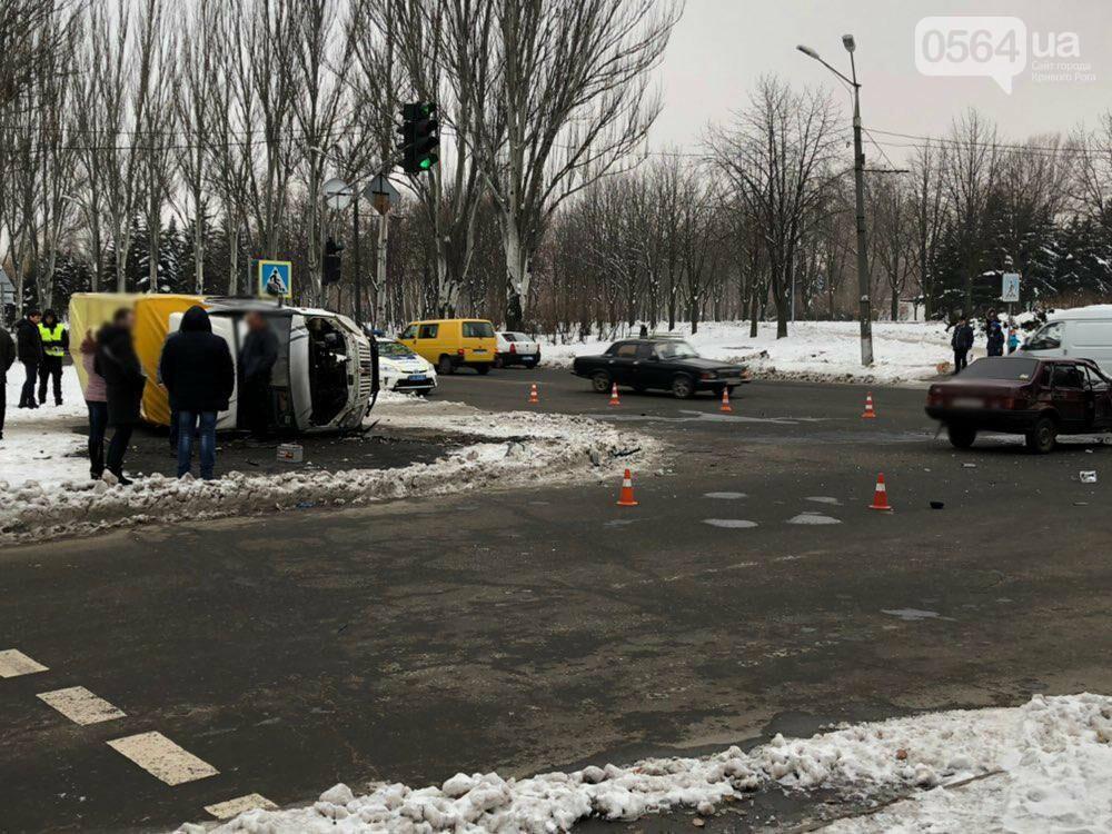 В Кривом Роге перевернулся и загорелся грузовик: пострадали 4 человека, - ФОТО , фото-12