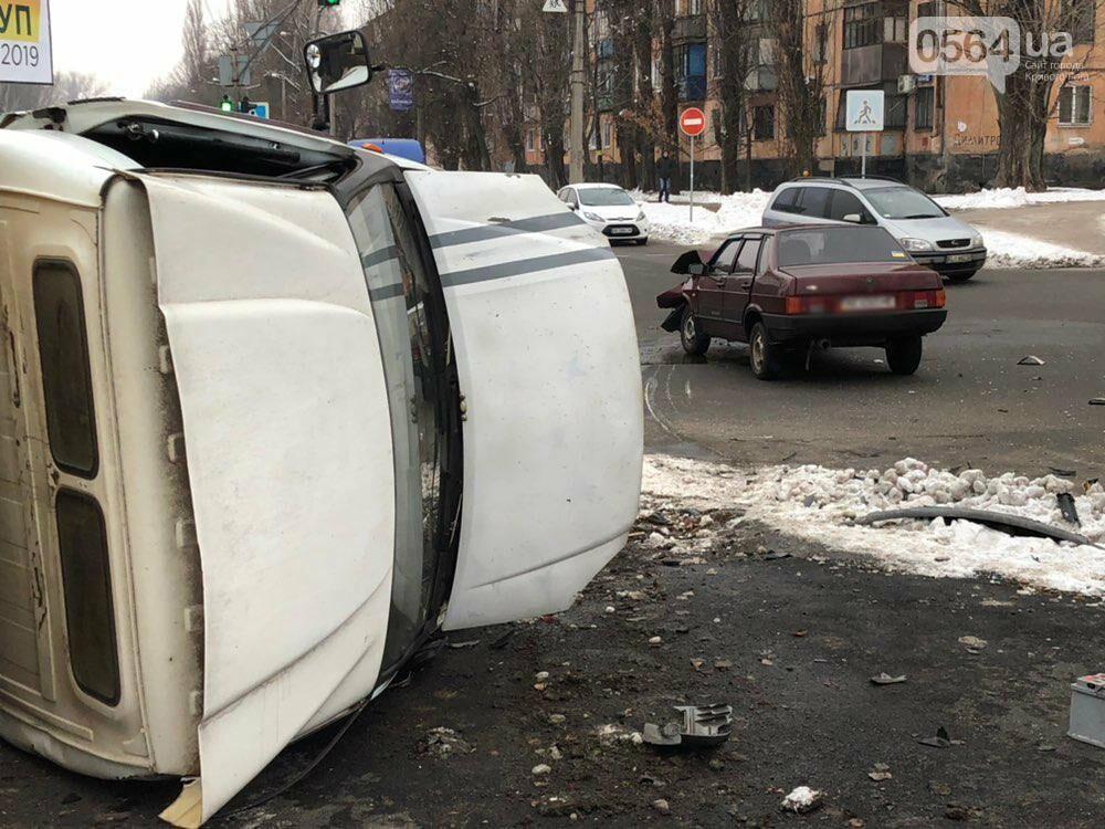 В Кривом Роге перевернулся и загорелся грузовик: пострадали 4 человека, - ФОТО , фото-14