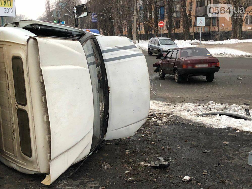 В Кривом Роге перевернулся и загорелся грузовик: пострадали 4 человека, - ФОТО , фото-15
