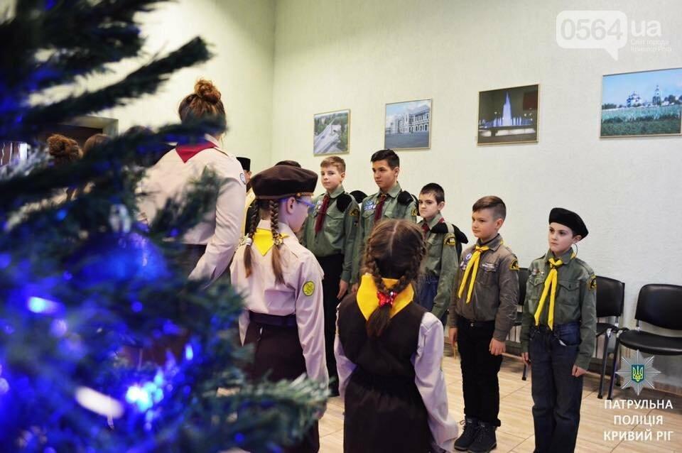 Криворожские пластуны передали Вифлиемский огонь мира патрульным, - ФОТО, фото-6
