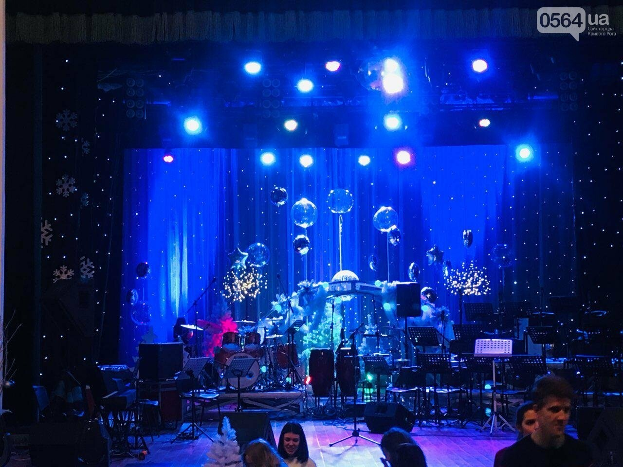 """Let it Snow"": на первое Рождество в Кривом Роге играют джаз, - ФОТО, ВИДЕО, фото-6"