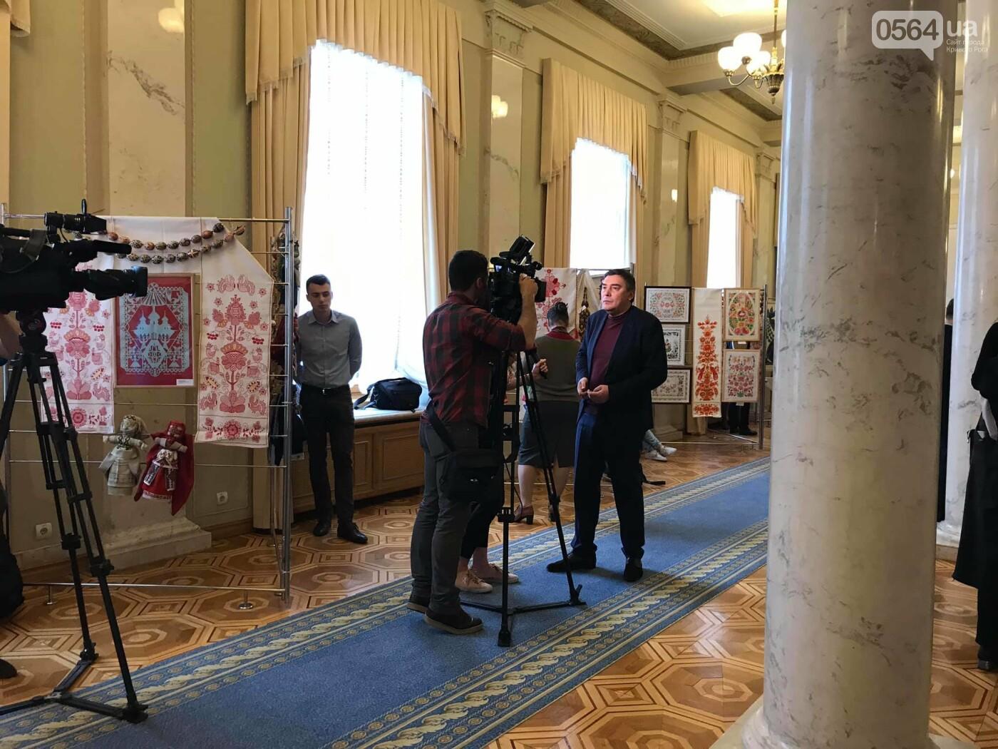В Верховной Раде открылась выставка криворожских мастериц, - ФОТО, фото-10