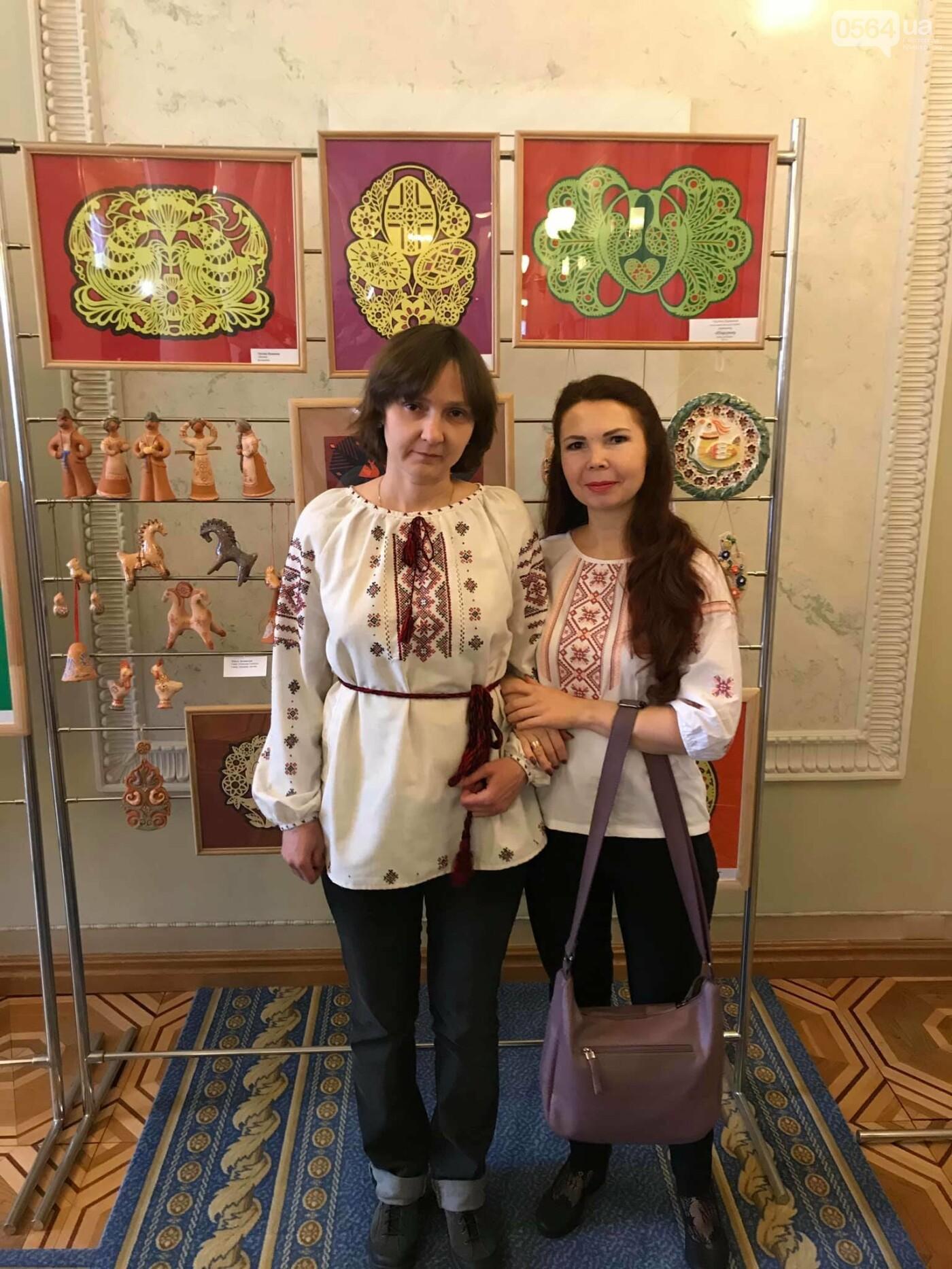 В Верховной Раде открылась выставка криворожских мастериц, - ФОТО, фото-7