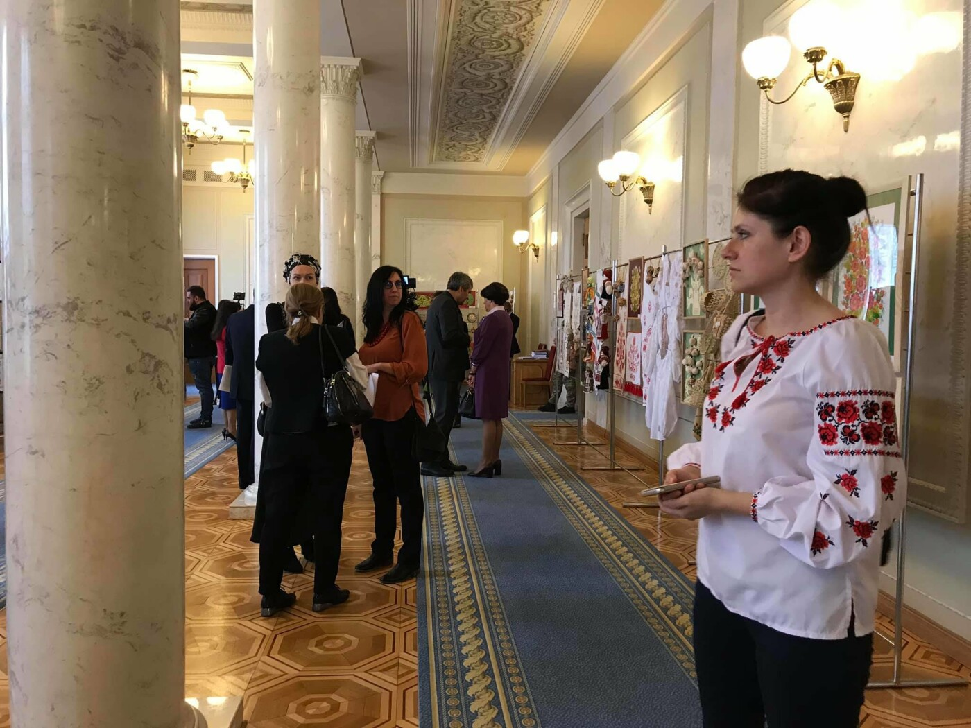 В Верховной Раде открылась выставка криворожских мастериц, - ФОТО, фото-6