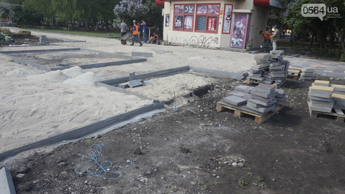 """Перед """"Еврофестом"""" в криворожском парке наводят порядок - работают без выходных, - ФОТО , фото-8"""