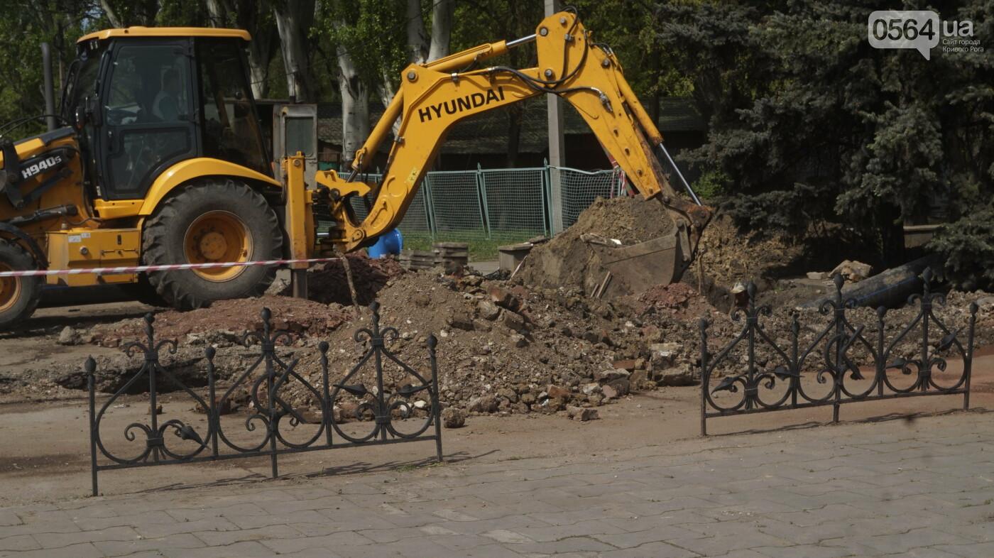 """Перед """"Еврофестом"""" в криворожском парке наводят порядок - работают без выходных, - ФОТО , фото-22"""