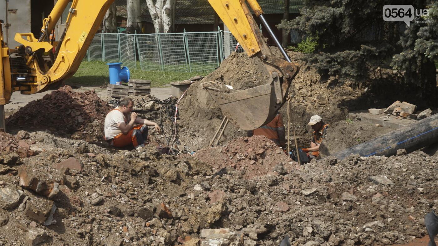 """Перед """"Еврофестом"""" в криворожском парке наводят порядок - работают без выходных, - ФОТО , фото-23"""