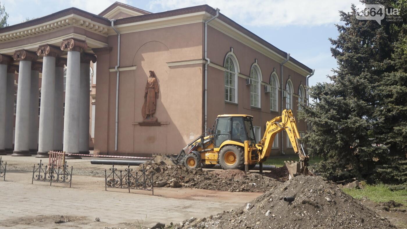 """Перед """"Еврофестом"""" в криворожском парке наводят порядок - работают без выходных, - ФОТО , фото-28"""