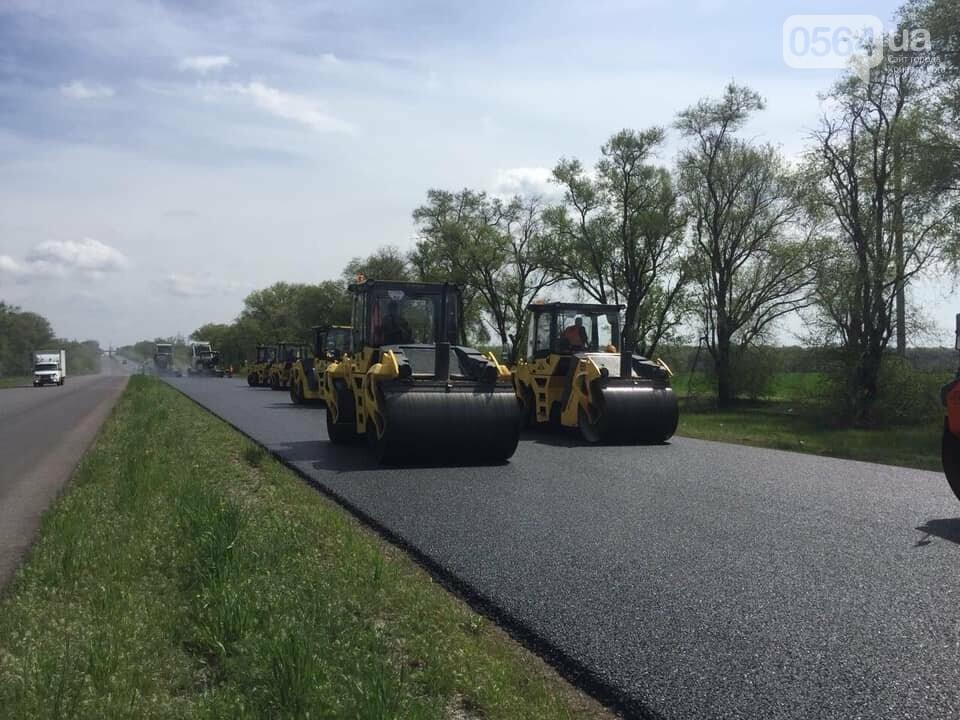 Водителей предупредили - под Кривым Рогом ремонтируют участок трассы Н-11, - ФОТО, фото-2