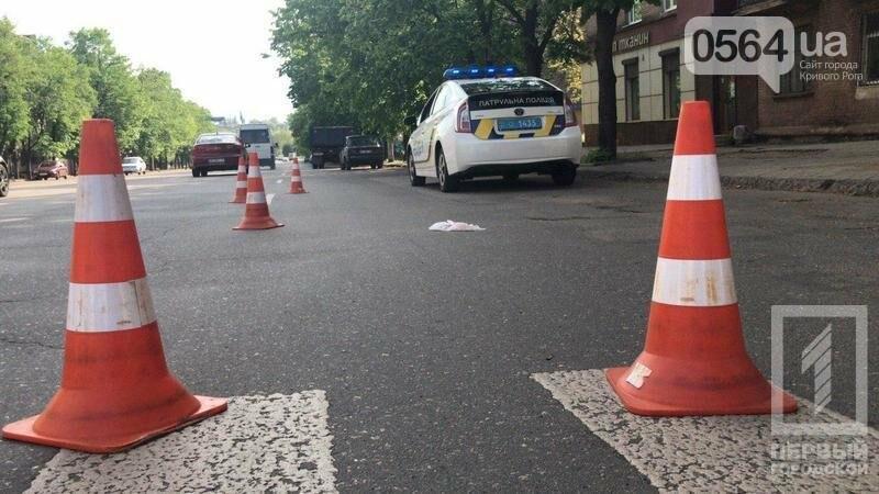 В Кривом Роге грузовик на пешеходном переходе сбил пенсионера, фото-1