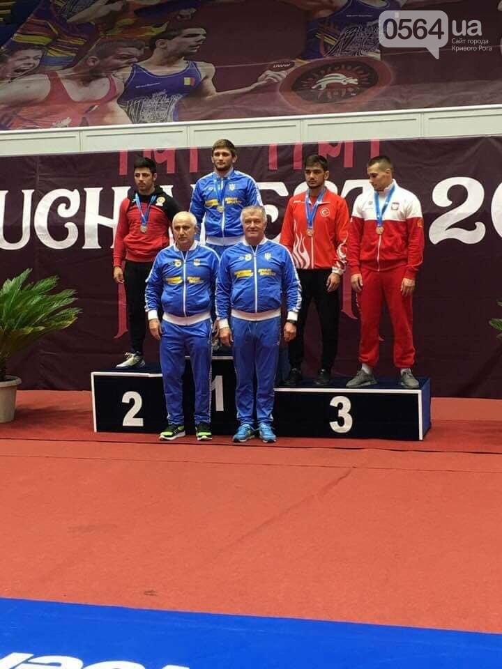 Юный криворожский спортсмен завоевал первое место на Международном турнире по греко-римской борьбе,- ФОТО , фото-3