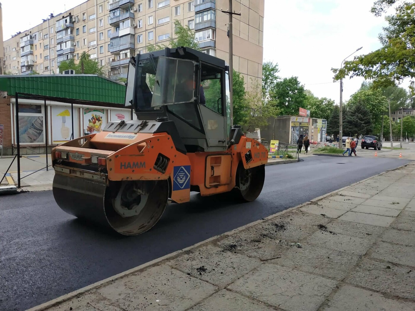 Благоустройство города: в Кривом Роге полным ходом идут ремонты дорог, фото-1