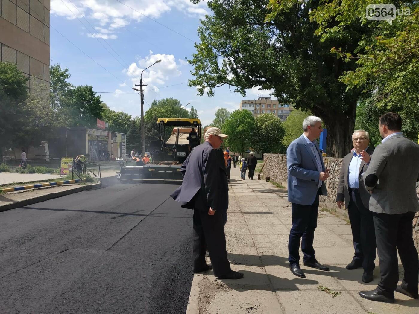 Благоустройство города: в Кривом Роге полным ходом идут ремонты дорог, фото-5