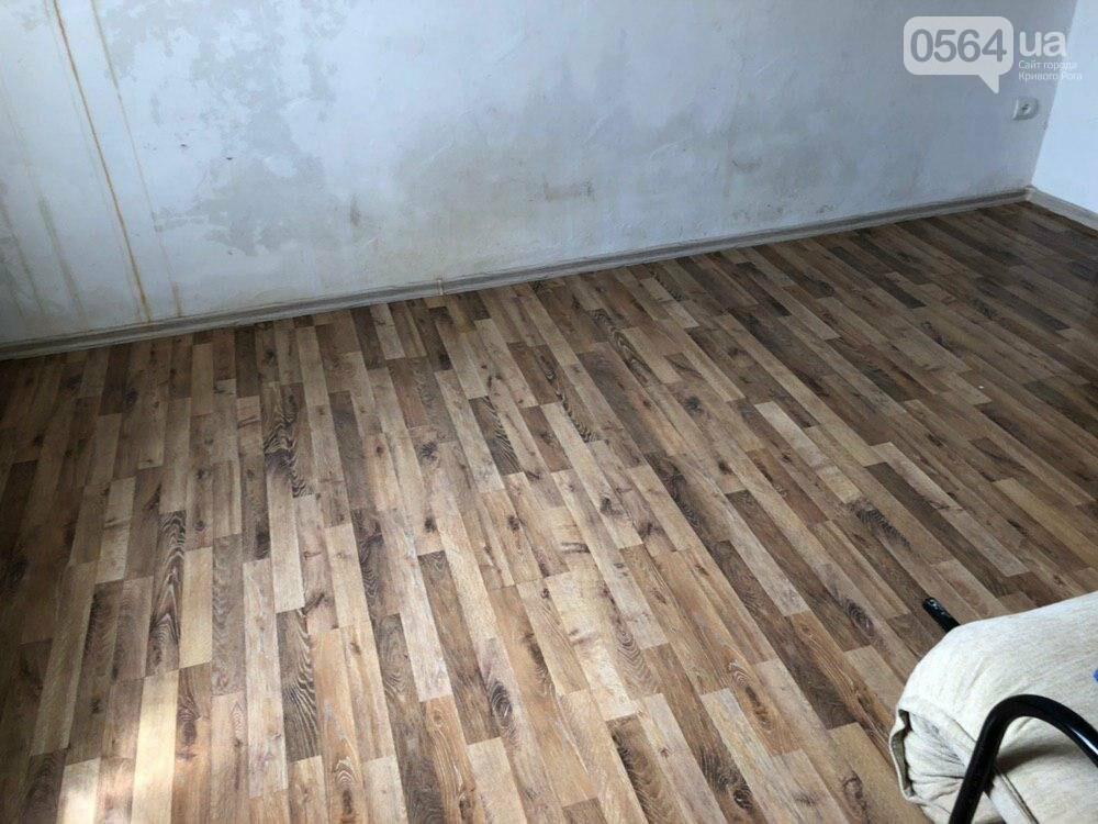 Из-за порыва трубы отопления в Криворожской многоэтажке рухнул потолок, - ФОТО, фото-14