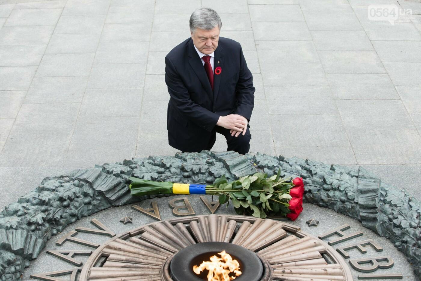Порошенко: 5 лет потомки победителей нацизма защищают свободу и выбор украинского народа от российской агрессии, фото-3