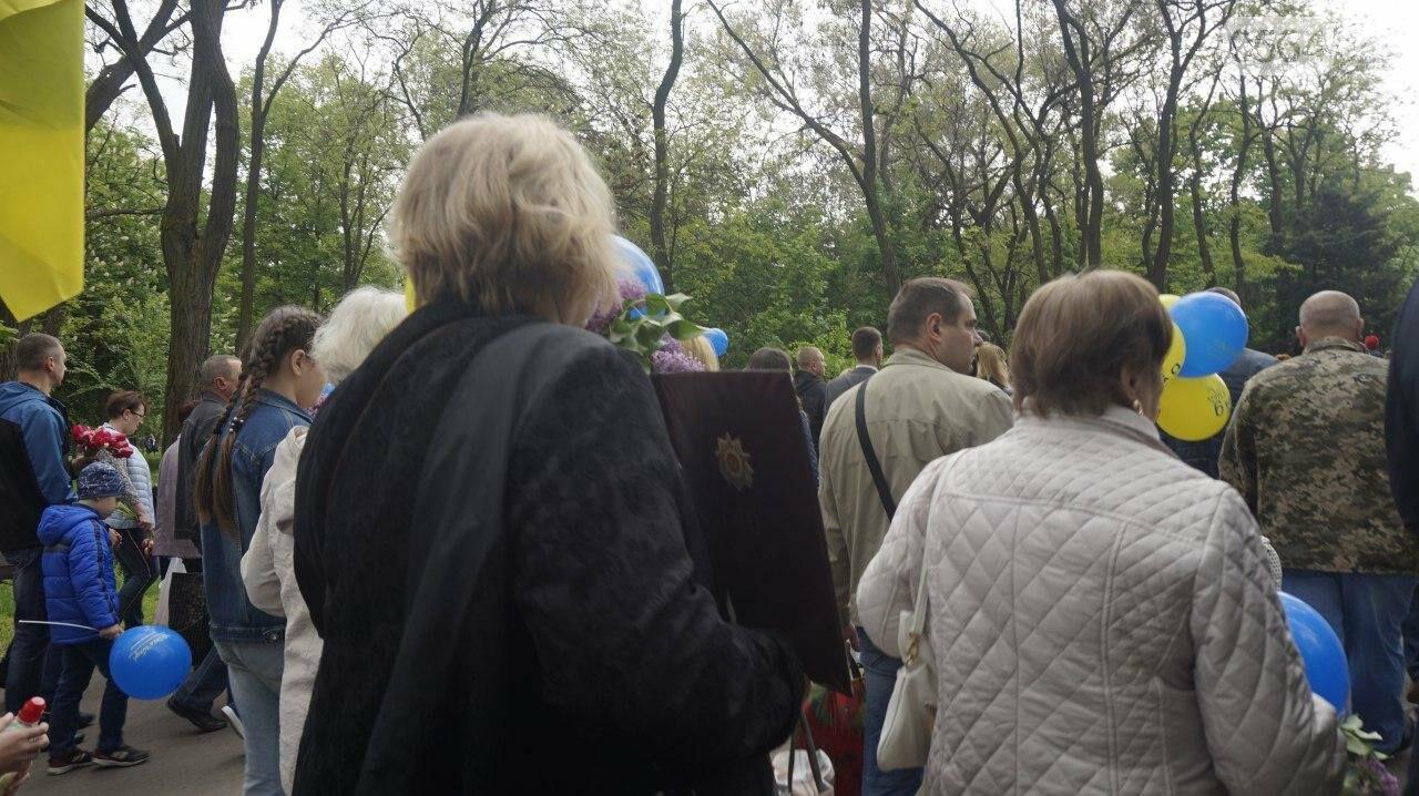 """9 мая в Кривом Роге: """"Марш мира"""" в Покровском районе стал самым массовым мероприятием, - ФОТО, фото-26"""