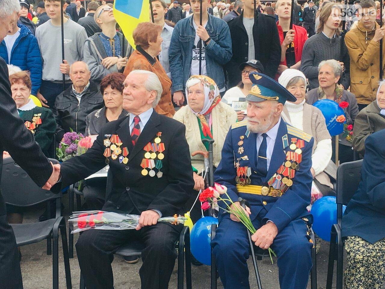"""9 мая в Кривом Роге: """"Марш мира"""" в Покровском районе стал самым массовым мероприятием, - ФОТО, фото-17"""