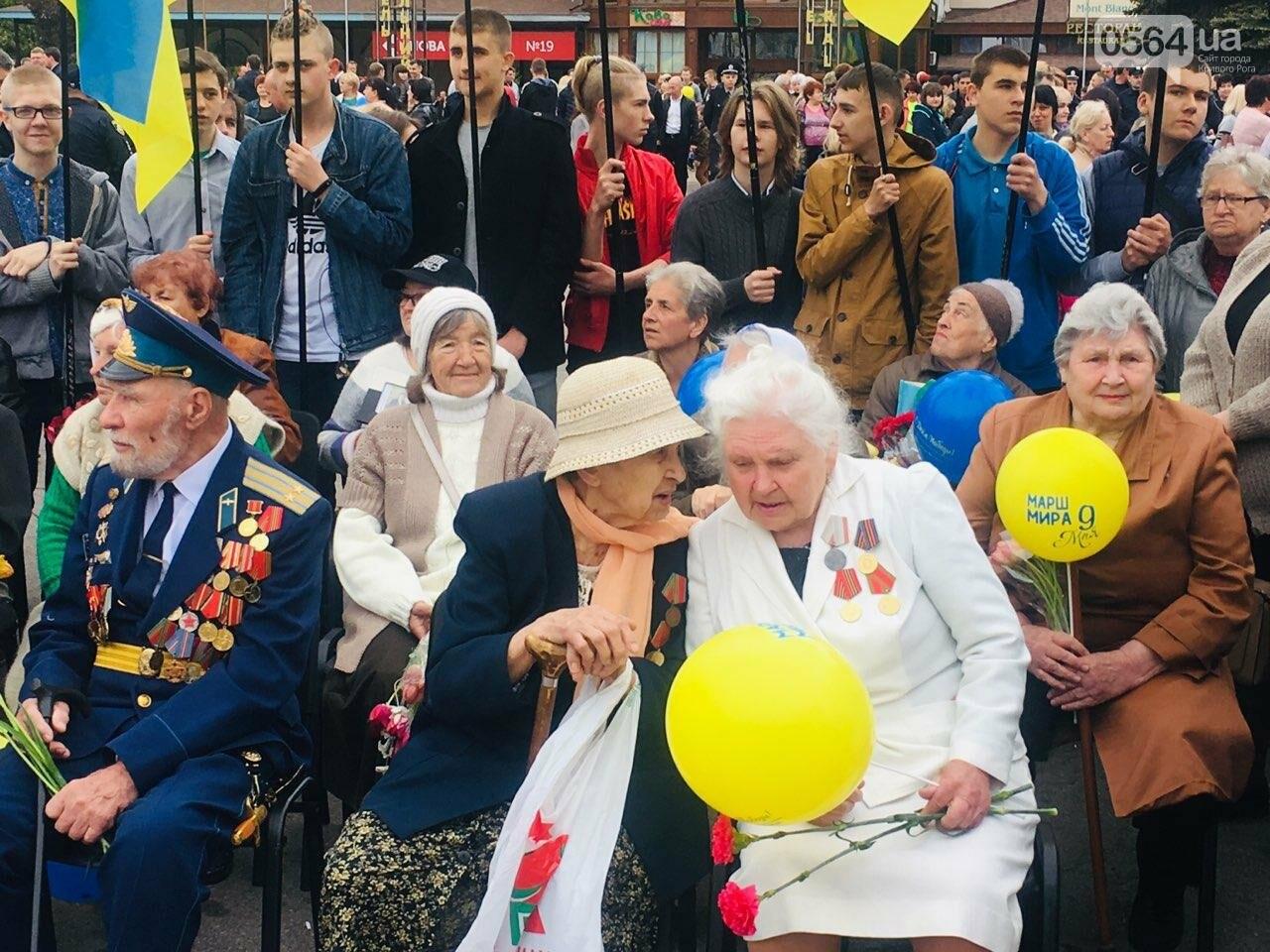 """9 мая в Кривом Роге: """"Марш мира"""" в Покровском районе стал самым массовым мероприятием, - ФОТО, фото-15"""