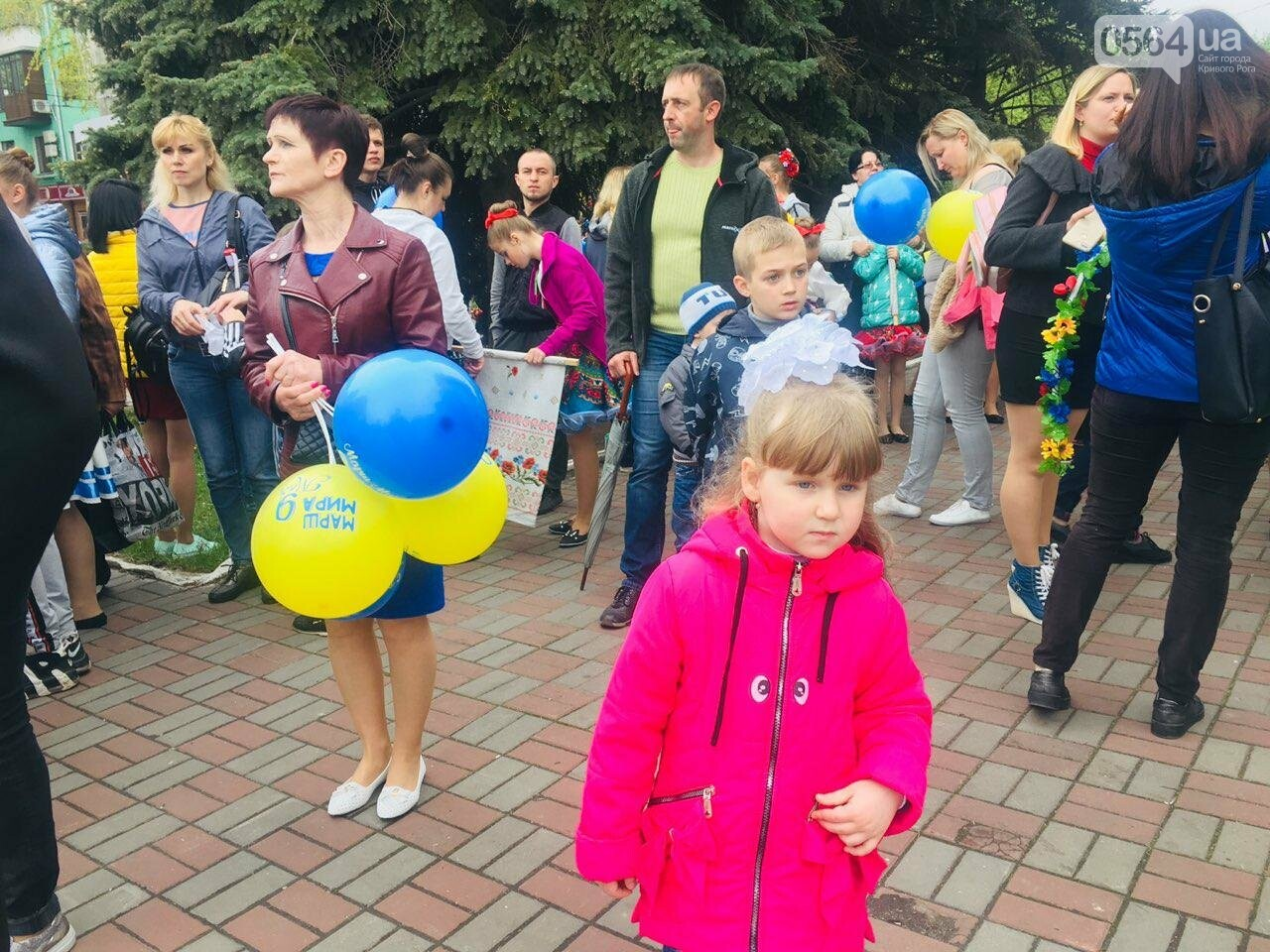 """9 мая в Кривом Роге: """"Марш мира"""" в Покровском районе стал самым массовым мероприятием, - ФОТО, фото-7"""