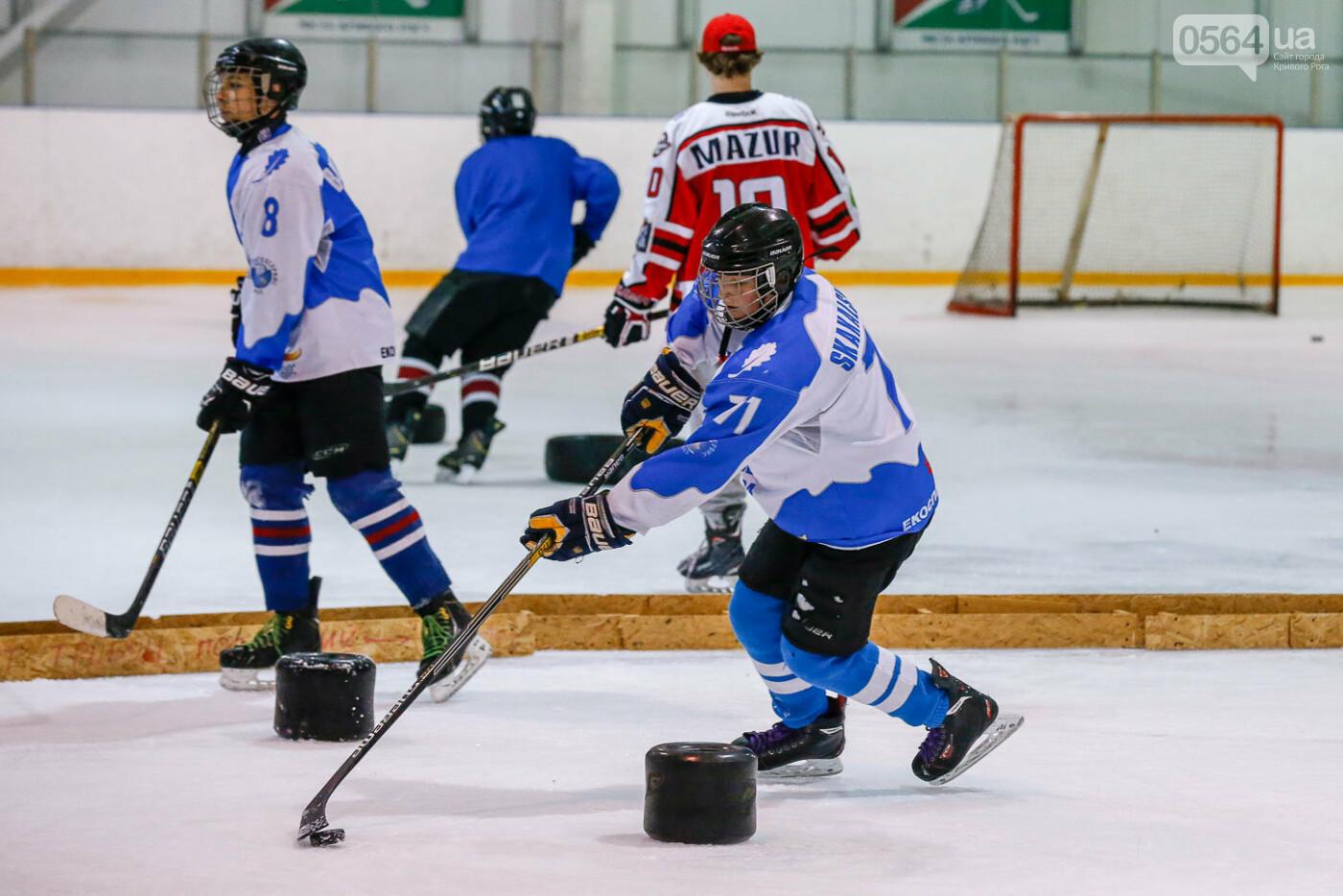 Звезды украинского хоккея провели открытую тренировку в Кривом Роге, фото-4