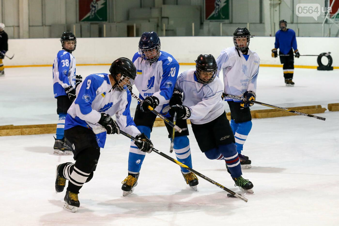 Звезды украинского хоккея провели открытую тренировку в Кривом Роге, фото-5