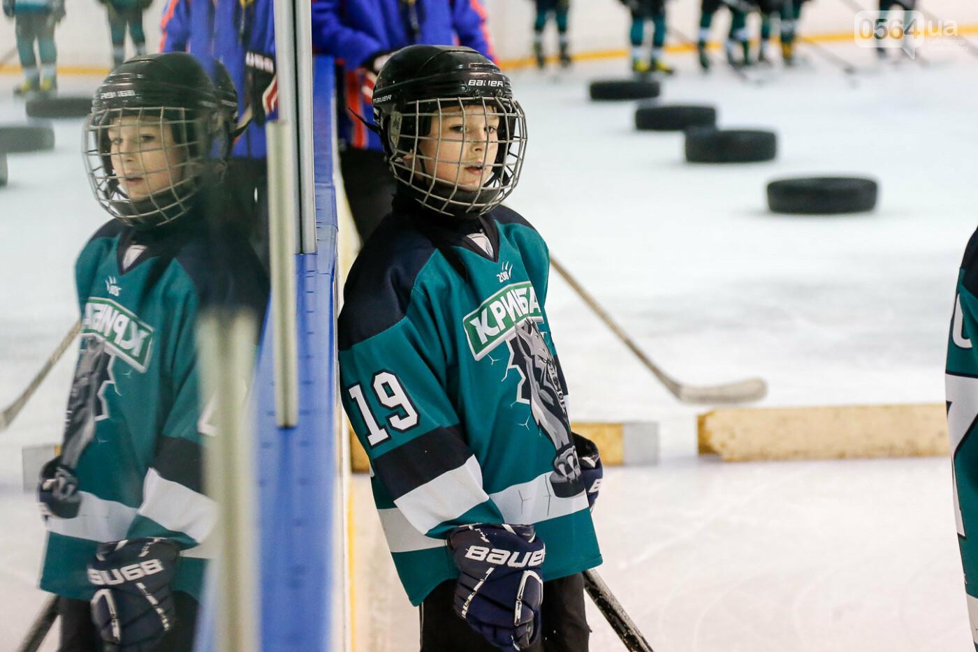 Звезды украинского хоккея провели открытую тренировку в Кривом Роге, фото-6