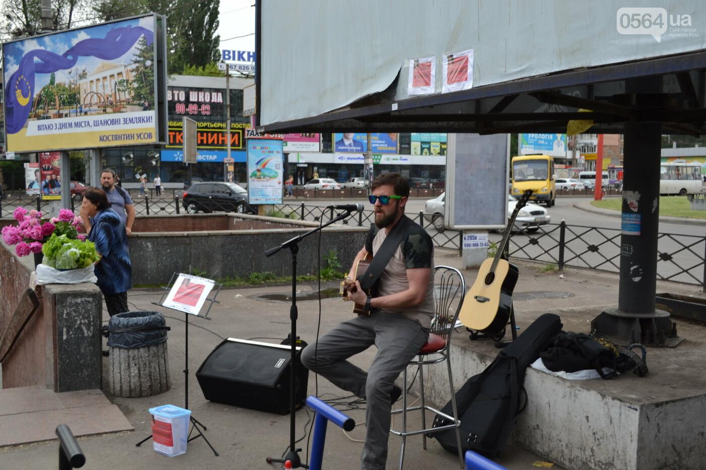 Концерт от Madisan Rock Club: криворожские музыканты поддержали юную Алину Михалковскую, - ФОТО, ВИДЕО, фото-8