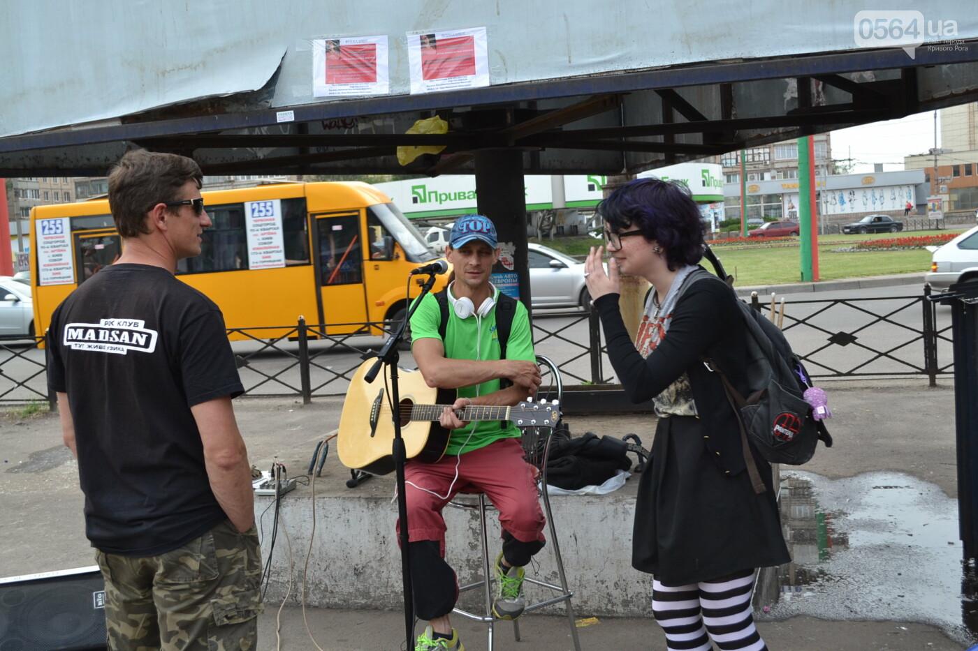 Концерт от Madisan Rock Club: криворожские музыканты поддержали юную Алину Михалковскую, - ФОТО, ВИДЕО, фото-21