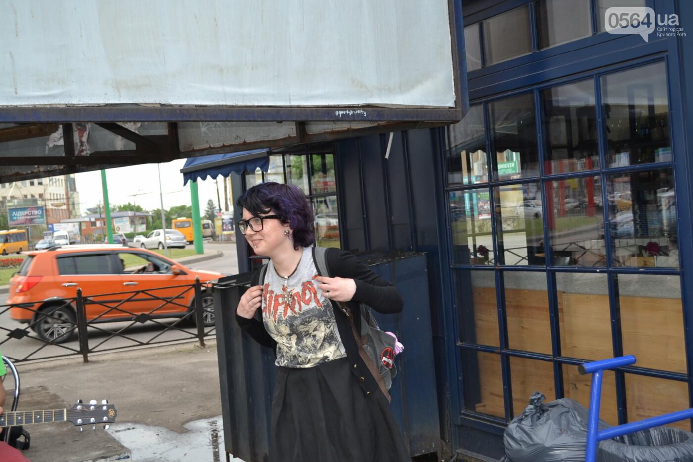 Концерт от Madisan Rock Club: криворожские музыканты поддержали юную Алину Михалковскую, - ФОТО, ВИДЕО, фото-22