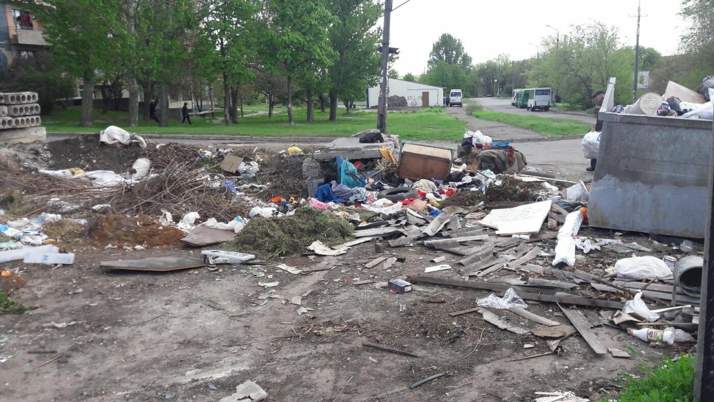 Криворожский активист показал мусор на Карачунах и обратился к мэру, - ФОТО, фото-1