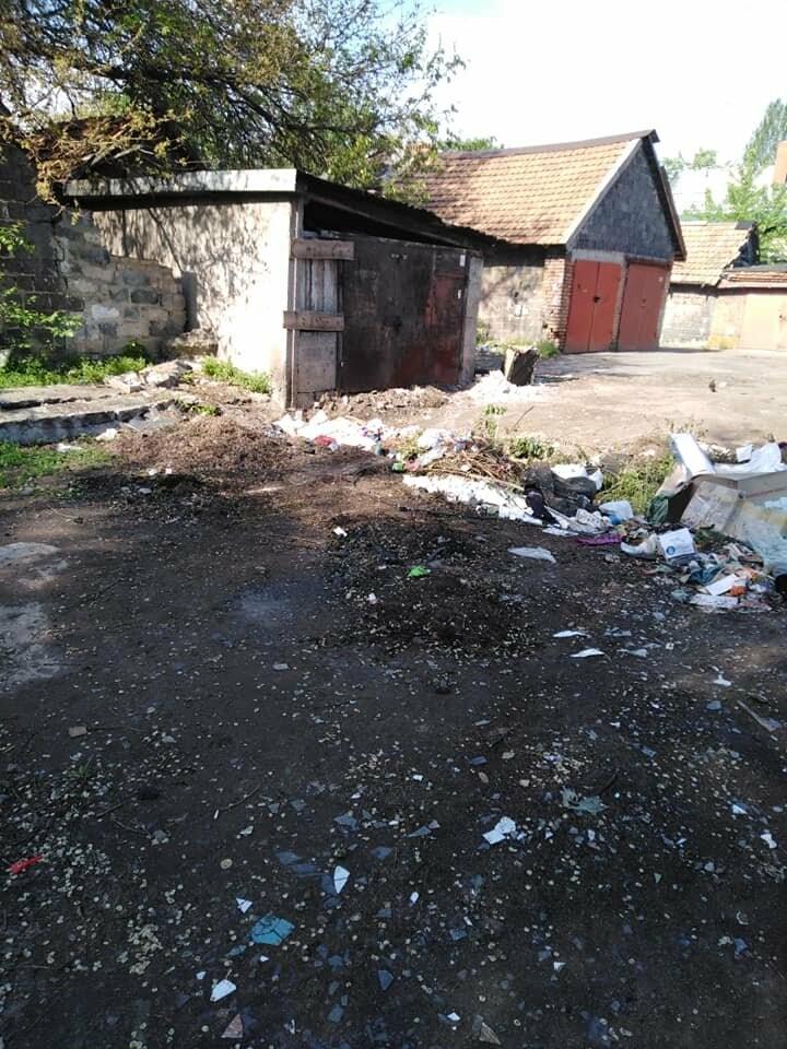 Криворожский активист показал мусор на Карачунах и обратился к мэру, - ФОТО, фото-4