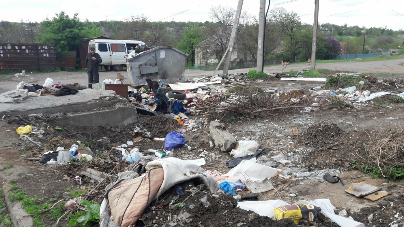 Криворожский активист показал мусор на Карачунах и обратился к мэру, - ФОТО, фото-2
