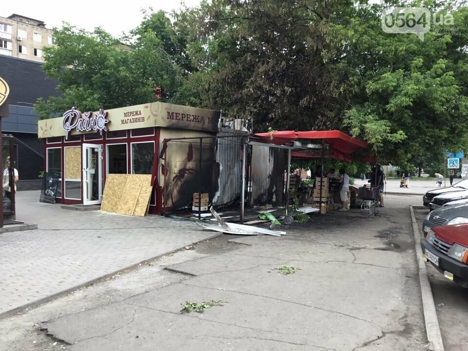 Ночью в Кривом Роге горели торговые объекты, - ФОТО, фото-16