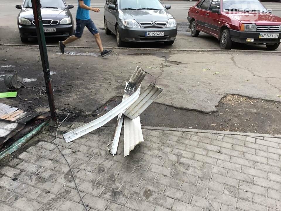 Ночью в Кривом Роге горели торговые объекты, - ФОТО, фото-7