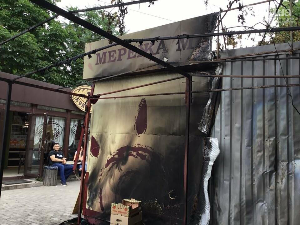 Ночью в Кривом Роге горели торговые объекты, - ФОТО, фото-4